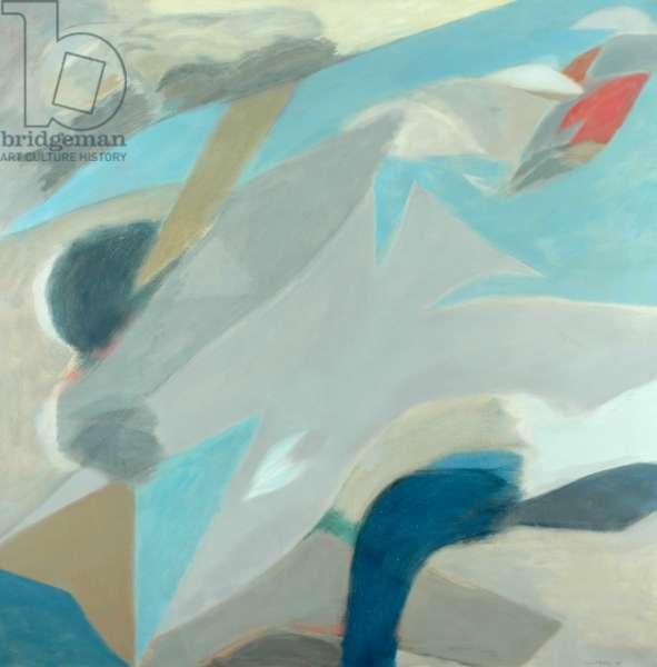 Cloud Poem, Evening, 1964 (oil on canvas)