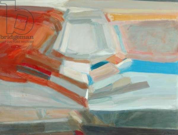 Evening Sky, Glendevon, 1960 (oil on canvas)