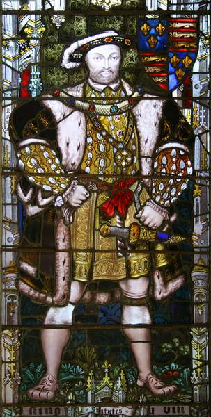 King Henry VIII, 1896 (stained glass)