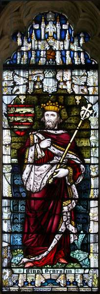 King Henry II, 1896 (stained glass)