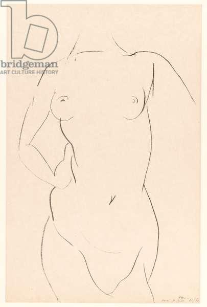 Torso, 1913 (litho)