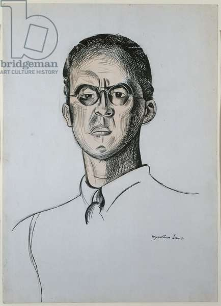 Sir Stafford Cripps (1889-1952) 1912 (pen, ink and w/c on paper)