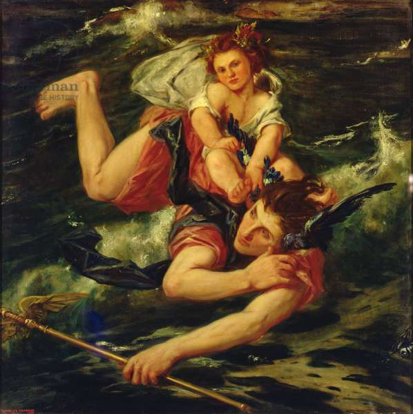 Hermes and the Infant Bacchus, 1927 (oil on canvas)