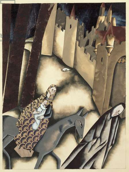 The Entry into Jerusalem from `The Tale of Little Jesus' by Edizioni Paoline