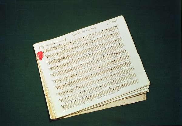 Original score of The Messiah