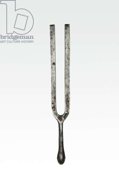Handel's tuning fork (metal)