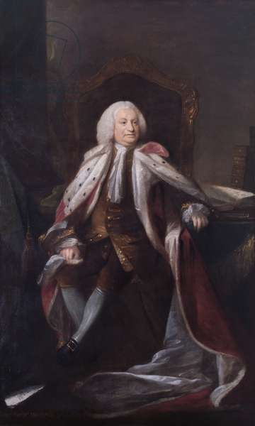 George Parker, 2nd Earl of Macclesfield (oil on canvas)