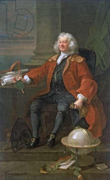 Captain Thomas Coram, 1740 (oil on canvas)