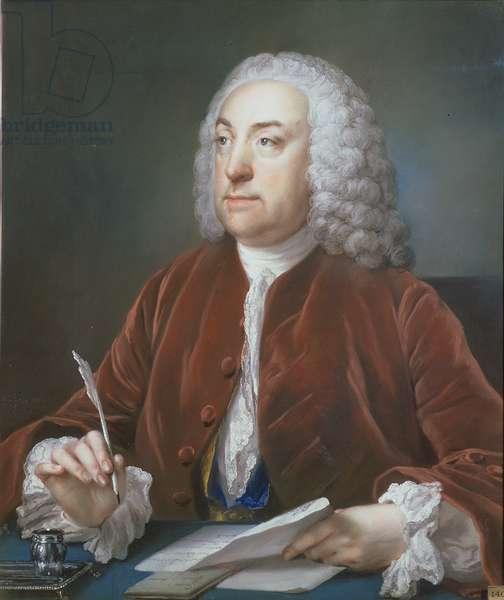Portrait of Taylor White, Treasurer of the Foundling Hospital, 1758 (pastel)