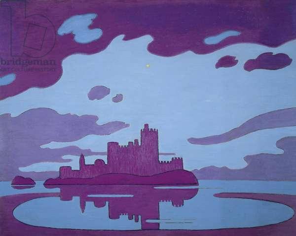IF castle, 1989 (oil on hardboard)
