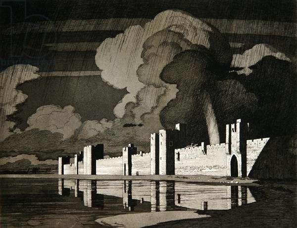 Aigues Mortes (etching)