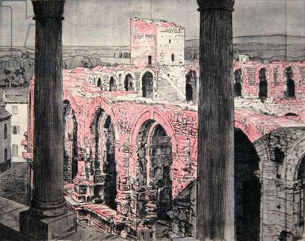 Arles (etching)