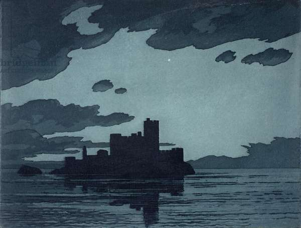IF castle 1989 (etching)
