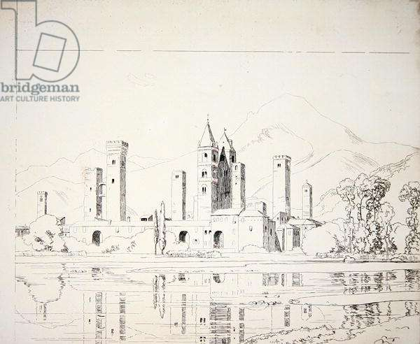 Albenga (pencil on paper) (see also 260039)