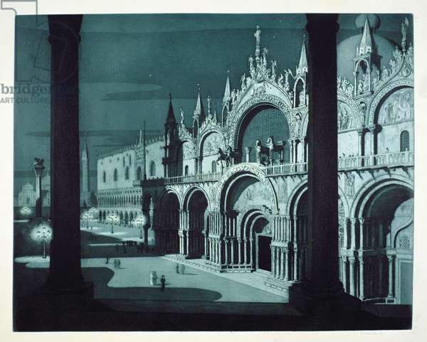 St Mark's, Venice (etching)