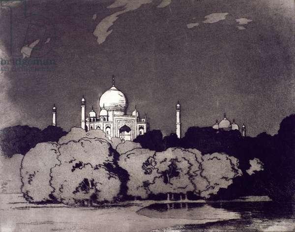 The Taj Mahal (etching)