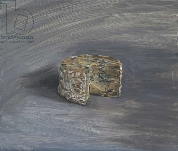 Old Stilton, 2016 (oil on wood)