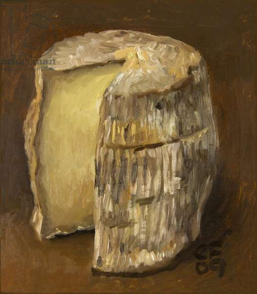 Berkswell, 2009 (oil on wood)