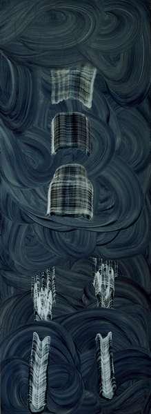 Untitled, 1997 (oil on masonite)
