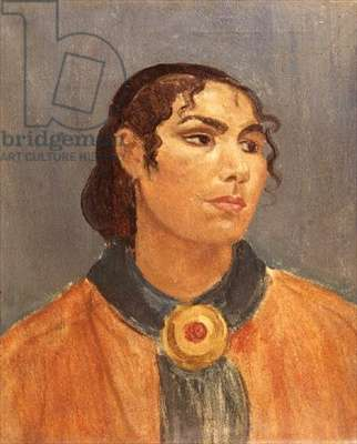 Portrait of a Gypsy Woman