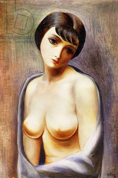 Bust of Girl; Buste de Jeune Fille, 1928 (oil on canvas)