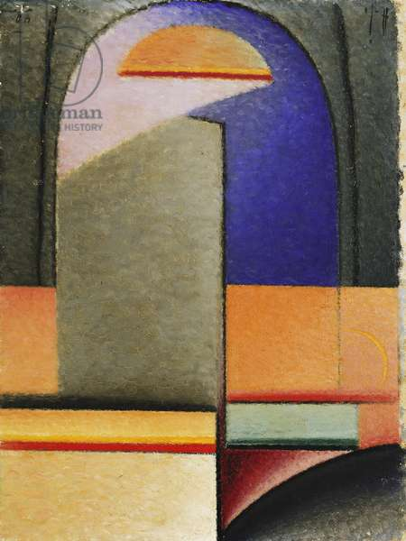 Evening; Abend, 1929-30 (oil on board)