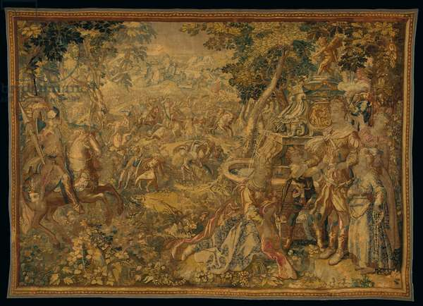 Delft mythological tapestry, by Franciscus Spierinckx, early 17th century (textile)