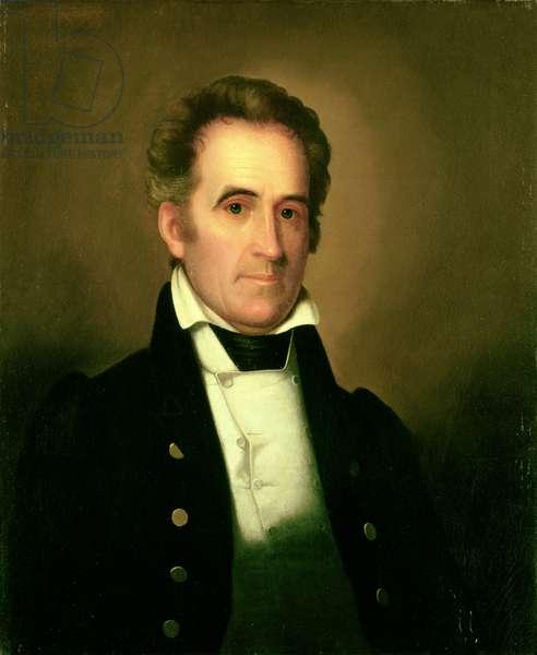 Portrait of Richard Mentor Johnson (oil on canvas)