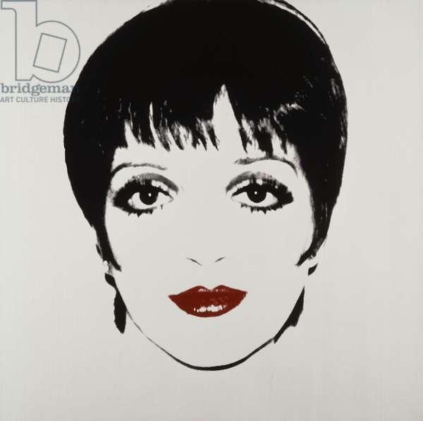 Liza Minelli, c.1978 (silkscreen on paper)