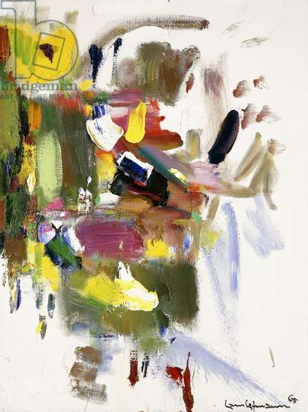 Flowers of the Mind, 1965 (oil on canvas)