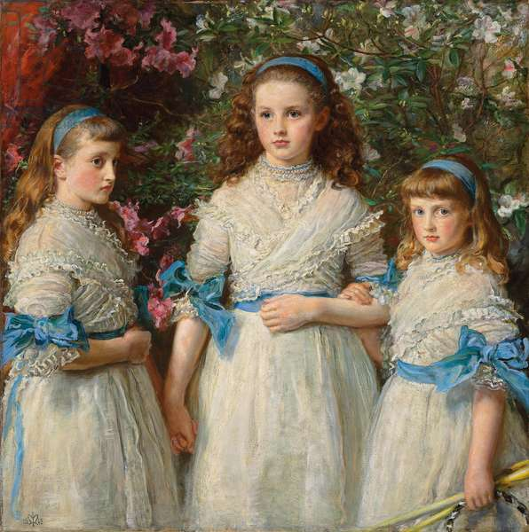 Sisters, 1868 (oil on canvas)