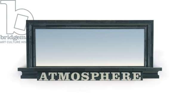 Atmosphere, 1985 (oil on panel in artist's frame)
