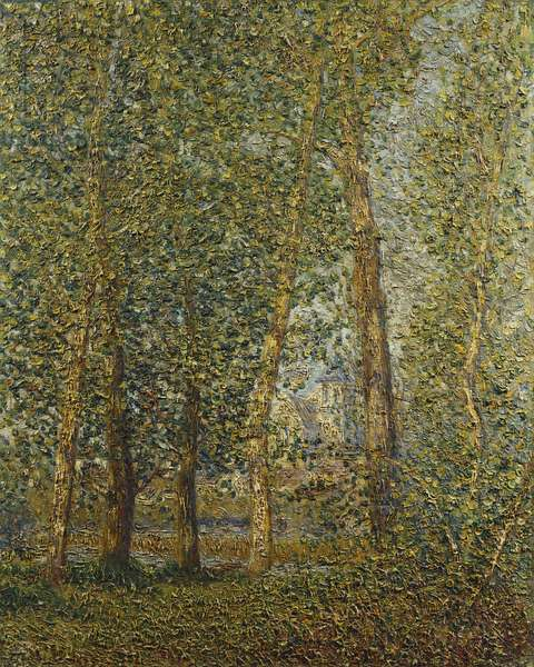 The Church of Montigny - September Sun; L'Eglise de Montigny - Soleil de Septembre, 1905 (oil on canvas)