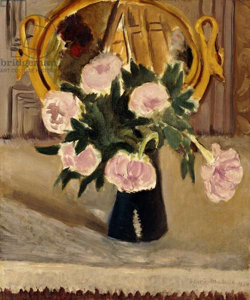 Still Life with Peonies; Nature Morte aux Pivoines, 1920 (oil on canvas)