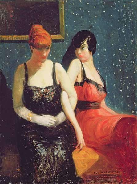 The Sisters, 1919 (oil on canvas)