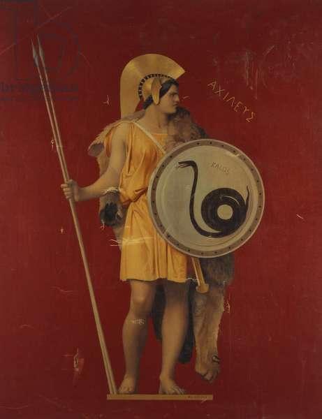 The Iliad (oil on canvas)