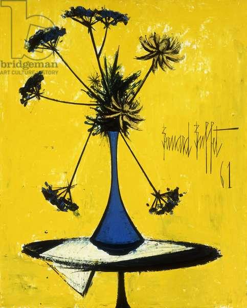 Vase de Fleurs, 1961 (oil on canvas)