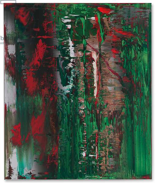 Abstract Painting (646-3); Abstraktes Bild (646-3), 1987 (oil on canvas)