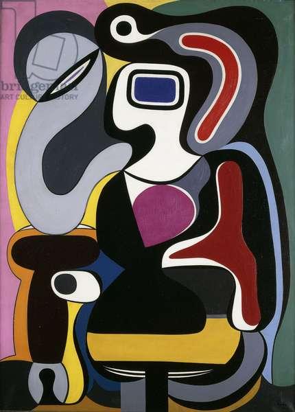 Composition, 1928 (oil on canvas)