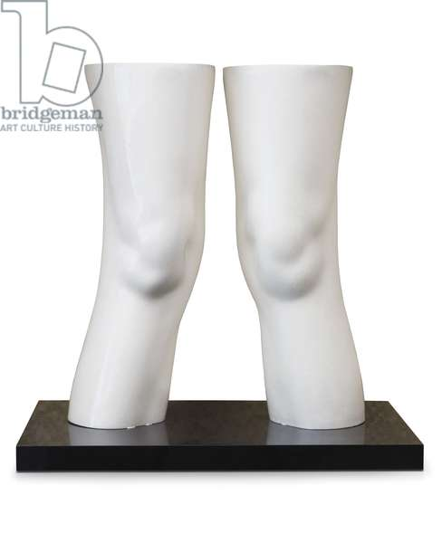 London Knees, 1966 (latex, polyurethane & acrylic)