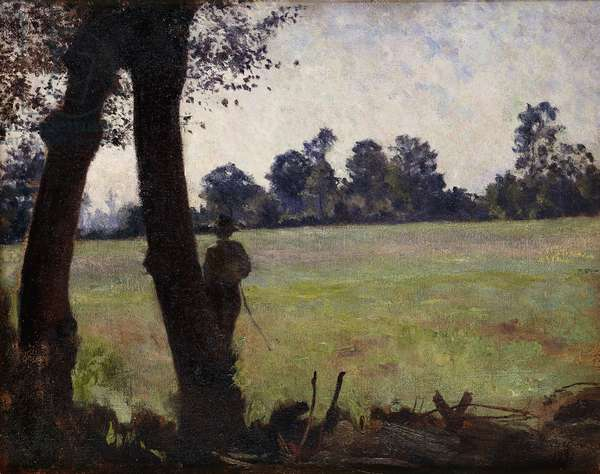 The Fisherman; Le Pecheur, 1890 (oil on canvas)