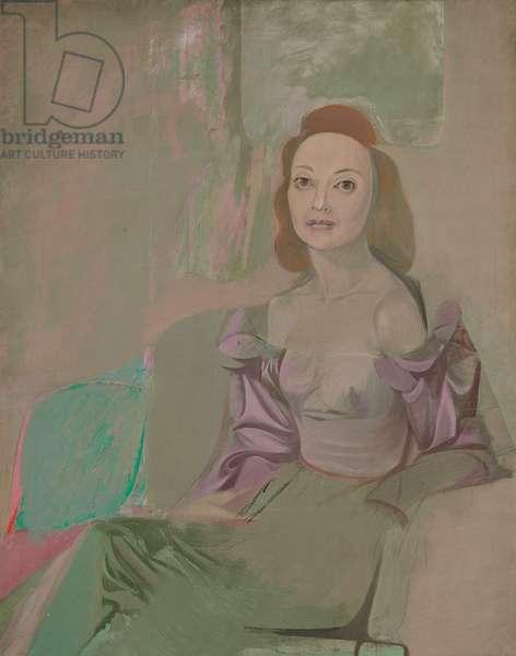 Portrait of a Woman, c.1940 (oil on canvas)