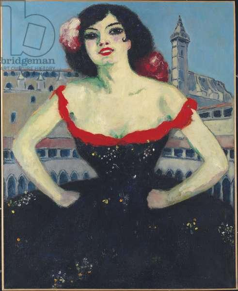 La Gitane, c.1917 (oil on canvas)