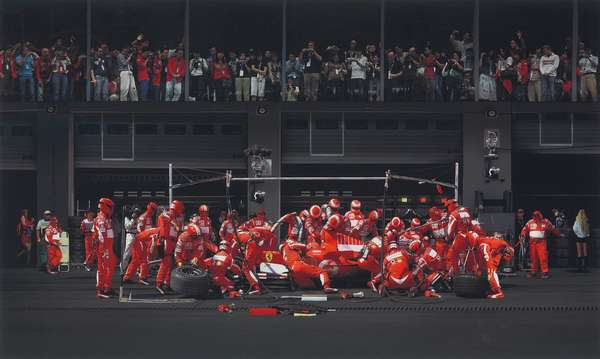 Ferrari I, 2007 (chromogenic coupler print)