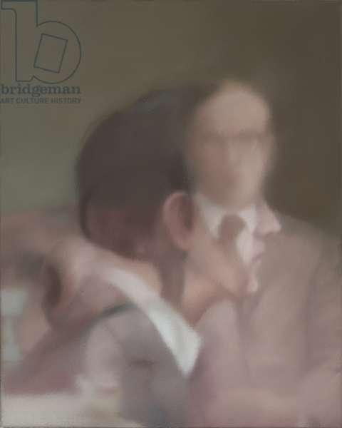 Gilbert & George, 1975 (oil on canvas)
