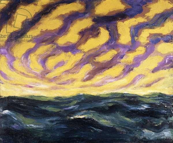 Autumn Sea XVI; Herbstmeer XVI, 1911 (oil on canvas)
