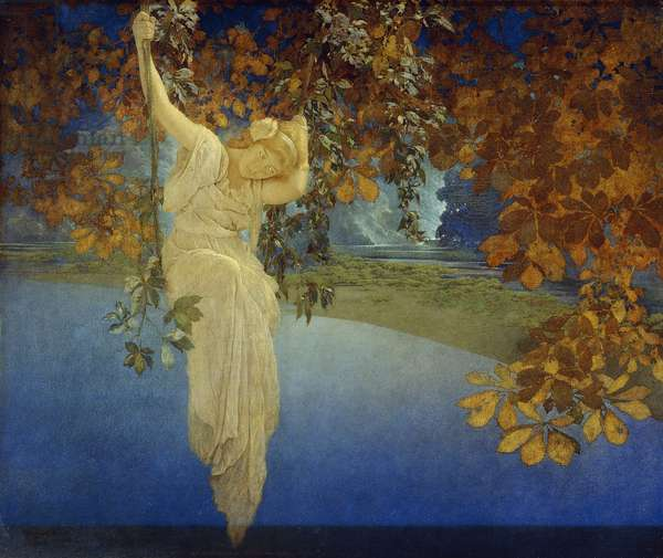 Reveries, 1913 (oil on canvas)