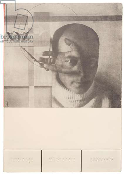Front cover of 'Foto-Auge, Oeil et Photo' (Photo-Eye), 1929 (litho)