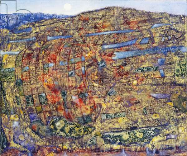 Landscape; Paysage, 1958 (oil on canvas)