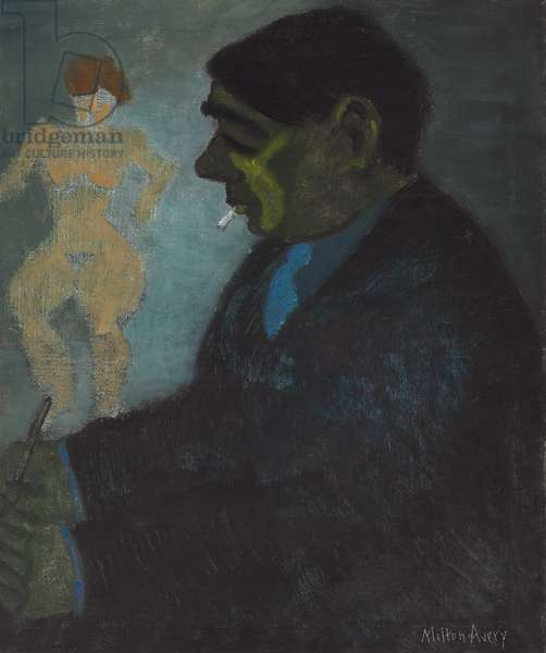 Portrait of George Constant (1892-1978)  (oil on canvas)